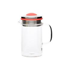 Brew Tea Pot (400ml) - Red - shopcoffeeuk