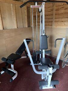 Body Solid EXM 1500  Heavy Duty Multi Gym And Incline/decline Bench