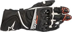 Alpinestars GP Plus R2 Gloves 3XL Black/White 3556520-12-3X
