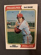 Mike Schmidt 1974 Topps Card