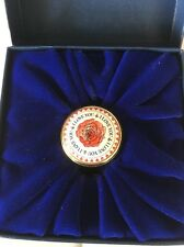 Halcyon Days Enamel Box - Rare I Love You Rose Enamel Box