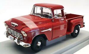 Ertl 1/18 Scale Diecast 7788 - 1955 Chevy 3100 Stepside Pick-up - Red