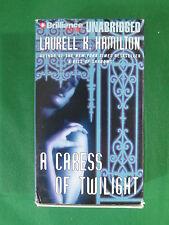 LAURELL K. HAMILTON A Caress Of Twilight Laural Merlington 8 Cass.  Brilliance