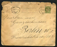 NORWAY to GERMANY 1921 cover - V. Nice