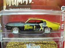 Johnny Lightning Universal Studios Monsters - The Mummy - 1971 Pontiac Gto Judge