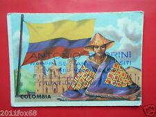 figurines cromos cards figurine sidam stati del mondo 62 colombia flags flaggen