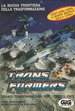 X4014 Micro Transformers Space Shuttle - GIG - Pubblicità 1989 - Advertising
