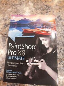 Corel Paintshop Pro X8 Ultimate New Sealed