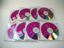Durabrand CD-R 80 Min / 700 MB Multi Speed 48x Discs Lot of 8 with jewel cases