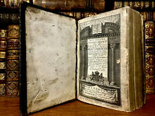 1825 THE DUTCH BIBLE with Psalm Hymns