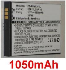 Batería 1050mAh Para ASUS M930, M930w, tipo SBP-11 SBP-46