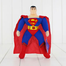 "Justice League Superman 9"" inches Plush Doll with Plastic Head - New with Tags"