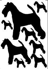 Wire Fox Terrier stickers