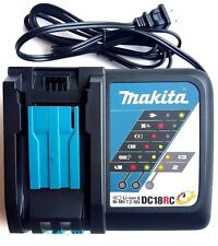 GENUINE Makita DC18RC 18V Rapid Battery Charger 18 Volt 4 BL1830,BL1840,BL1850