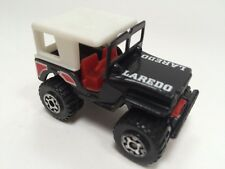 Diecast  Matchbox  1981 Laredo Jeep  Black with White Top Vintage