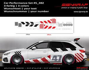 CAR PERFORMANCE SET - Camouflage Seitenstreifen Autoaufkleber - #5_382