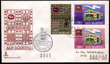 San Marino 977-79 FDC, Philatelie Presse