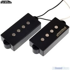 NEW - Wilkinson Premium WPB AlNiCo V Pickup Set for Precision Bass P-Bass