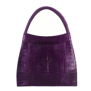 Nancy Gonzalez | Purple Crocodile Handbag