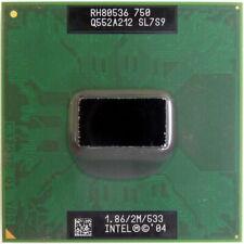 Intel Pentium M 750 1.867 GHz SL7S9 RH80536GE0362M CPU Microprocessor 478-pin