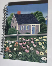 "Claire Murray Spiral Journal 9""x8"" 60 Lined Pages & 3 Pages To Hold Pictures"