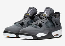 2019 Nike Air Jordan 4 Retro GS OG SZ 7Y Cool Grey Chrome Yellow IV 408452-007