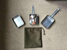 ENGLISH / FRENCH MILITARY MESS TIN CARRY SACK