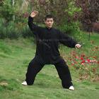 Tai chi Uniform Kung fu Suit Martial arts Wing Chun Clothes Soft Cotton 5 Colors
