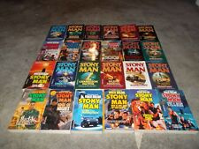 DON PENDLETON~VERY RARE COMPLETE STONY MAN SERIES~140 BOOK COLLECTION