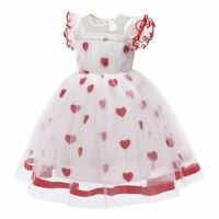 red Infant//toddler//baby//children beading Pageant Dress 092 with hairbow