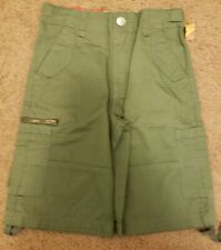 NWT Mossimo Boys Green Cargo Shorts, Size 4