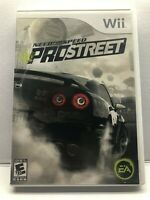 Need for Speed: ProStreet (Nintendo Wii, 2007) Clean & Tested Working