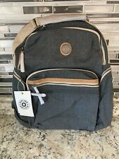 Kipling Osho Casual Grey Laptop Backpack New With Tags $154