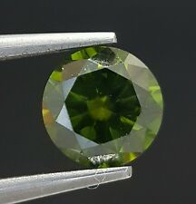 Fancy Green Diamond Color Enhanced Direct From Dealer 0.57 Ct Loose Real Image