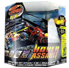 Air Hogs Hover Assault Red R/C Missile Launching Ground and Sky Attack