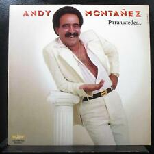 Andy Montanez - Para Ustedes…Con Sabor! LP Mint- LAD-AM 364 Vinyl Record