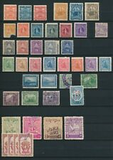Nicaragua small collection of older stamps. 2 pages