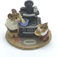 Wee Forest Folk Miniature Figurine The Old Black Stove M 185 Special Edition