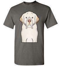 Clumber Spaniel Cartoon T-Shirt Tee - Men Women Ladies Youth Kids Tank Long dog