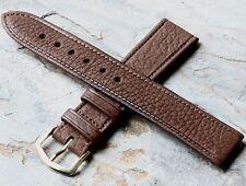 Vintage 18mm Bulova Aerojet watch strap 1960s/70s NOS textured leather 14 sold