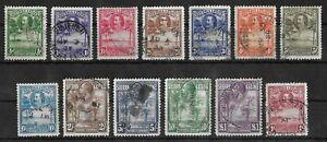 SIERRA LEONE 1932 Used Complete Set of 13 Stamps SG #155-167 CV £500