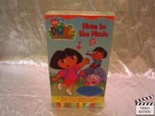 Dora The Explorer Move To The Music VHS Screener NEW
