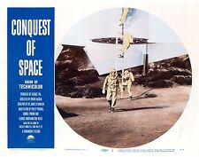 Conquest of Space 8 Lobby Card Set 1955 All cards Near Mint except #5 is a FINE-