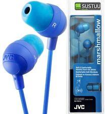 Auricolari e cuffie blu JVC