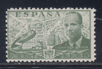 ESPAÑA (1941) NUEVO MNH SPAIN - EDIFIL 945 JUAN DE LA CIERVA