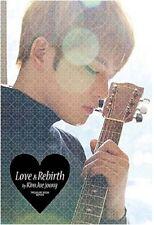 JYJ JAE JOONG Treasure Book LOVE & REBIRTH plus bonus postcards Free Shipping