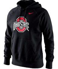 Ohio State Buckeyes Football NCAA Nike L Classic Logo Cotton Hoodie Sweatshirt