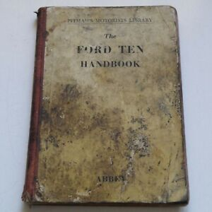1949 PITMAN'S THE FORD TEN TRUCK HANDBOOK OWNER'S INSTRUCTION BOOK GREAT BRITAIN