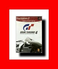 CAR RACING VIDEO GAME/VIDEOGAME PLAYSTATION 2 PS-GRAN TURISMO 4 PS2 GREATEST HIT
