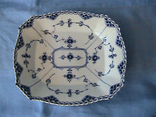 Royal Copenhagen Blue Fluted Half Lace 10.5in x 9in  Serving Dish #655